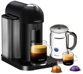 Nespresso VertuoLine Coffee/Espresso Maker and Frother Set (2 PC)