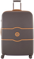 Delsey Chatelet Hard 4 Wheel Trolley Case - Chocolate - 77x52.5cm