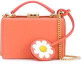 Mark Cross daisy-shaped charm shoulder bag - women - Cotton/Leather - One Size