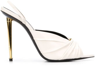Tom Ford Gathered Toe Slingback Sandals