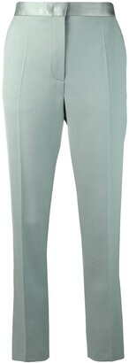 Joseph creased cropped trousers