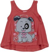 Erge Puppy Screen Tank (Baby) - Coral-24 Months