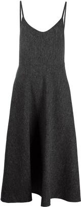 Valentino Strappy Flared Dress