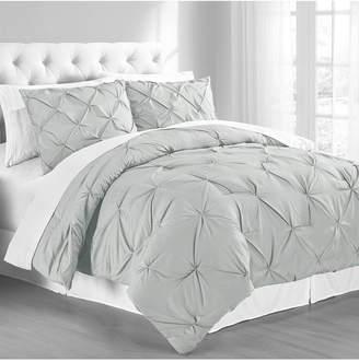 Premium Collection King Pintuck Bedding Comforter Set Bedding