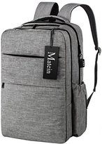 Diaper Bag Backpack for Mom & Dad with Stroller Straps, Anti Theft & Smart Organizer System Back Pack by Matein - Changing Pad, Insulated Bottle Bag Included - Grey
