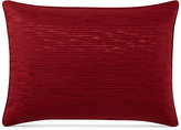 Hotel Collection Woven Texture Red Standard Sham