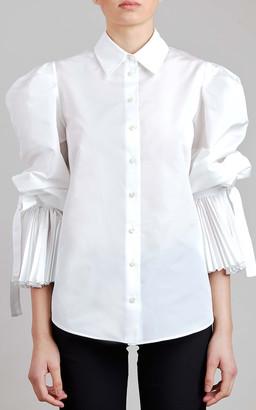 Elie Saab Taffeta Shirt