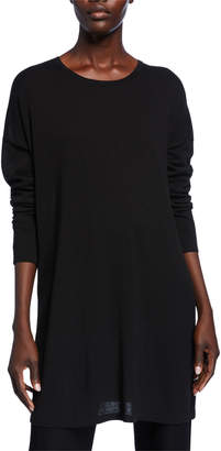 Eileen Fisher Lightweight Long-Sleeve Tunic