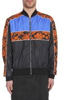 MSGM Bomber Jacket In Technical Fabric