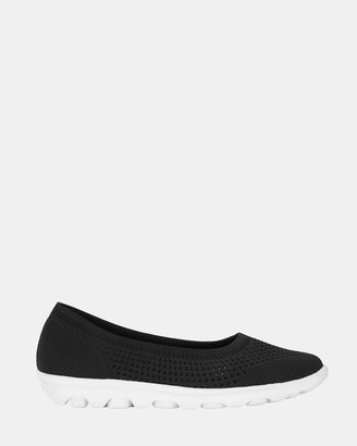 Ravella - Women's Black Ballet Flats - Hitch - Size One Size, 37 at The Iconic