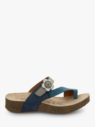 Josef Seibel Tonga 23 Toe Post Flower Buckle Sandals