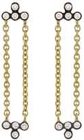 Yannis Sergakis Adornments Symmetric Diamond Charnieres Earrings