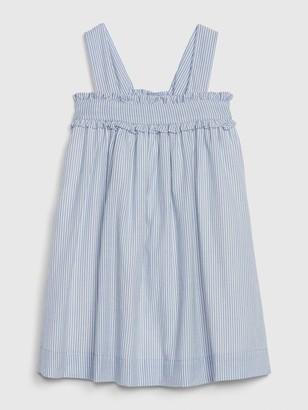 Gap Toddler Pinstripe Ruffle Dress