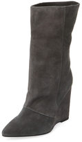 Jota Leather Wedge Boot