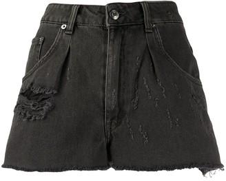 IRO Denim Distressed Shorts