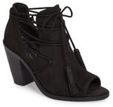 Jessica Simpson Women's Ceri Split Shaft Open Toe Bootie