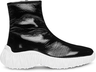 Miu Miu Chunky Sole High-Top Sneakers