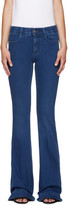 Stella McCartney Blue Flared The 70s Jeans