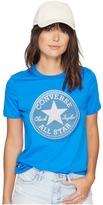 Converse Microdot Chuck Patch Classic Crew Tee Women's T Shirt