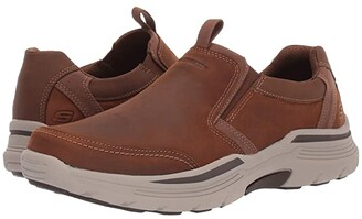 Skechers Relaxed Fit Expended - Morgo (Black) Men's Shoes