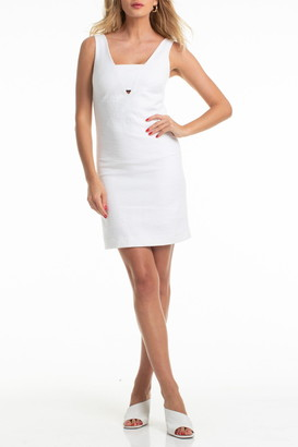 Trina Turk Gita Panel V-Neck Shift Dress