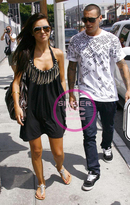La Rok Navajo Chain Dress as seen on Audrina Patridge and Blake Lively in Black and Boulder