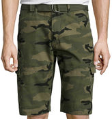 Ecko Unlimited Unltd. Beveler Camo Cotton Cargo Shorts