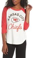 Junk Food Clothing Women's Nfl Kansas City Chiefs Raglan Tee