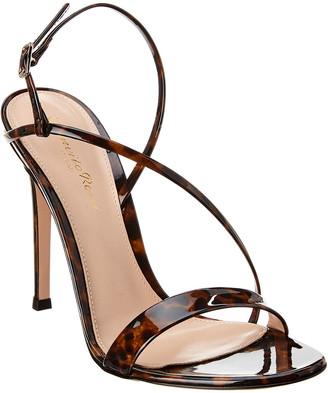 Gianvito Rossi Manhattan 105 Patent Sandal