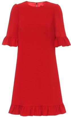 Dolce & Gabbana Stretch-crepe minidress