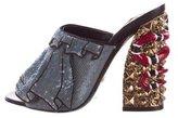 Gucci 2017 Owen Embellished Sandals