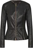 The Row Anasta Leather Jacket - Black