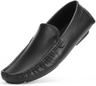 MIO Marino Threaded Leather Loafers for Men