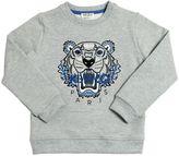 Kenzo Embroidered Logo Cotton Sweatshirt