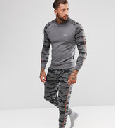 Diesel Peter Joggers with Cuffed Ankle in Camo