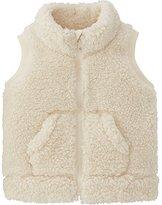 Uniqlo Toddler Fluffy Yarn Fleece Vest