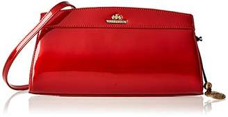 Nocollection Wittchen Classic Bag 16 x 29 cm, Patent Leather Suitable for A4 Size Verona 25-4-516-3