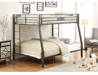 ACME Furniture ACME Limbra Full XL over Queen Bunk Bed in Sandy Black, Multiple Sizes