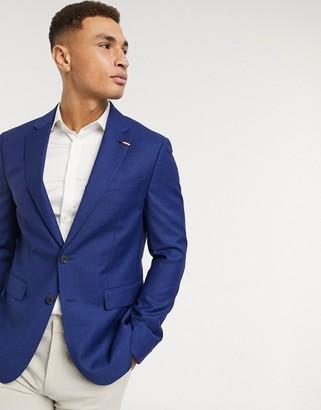 Tommy Hilfiger micro design slim fit suit jacket