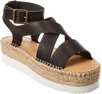 Soludos Olympia Leather Espadrille Sandal