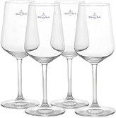 Villeroy & Boch 4-Piece Ovid White Wine Goblet Set