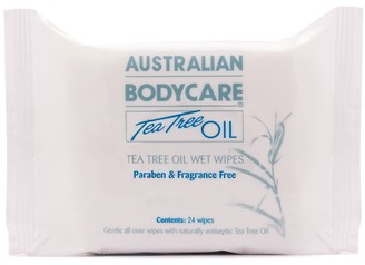Australian Bodycare Tea Tree Oil Wet Wipes X 24