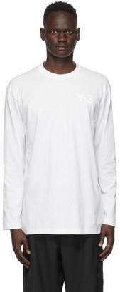 Y-3 White CL Logo T-Shirt