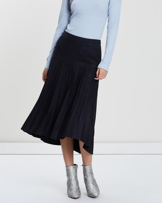 West 14th Park Avenue Pleat Skirt