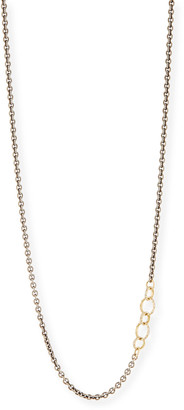 Armenta Old World Chain Necklace with Champagne Diamonds