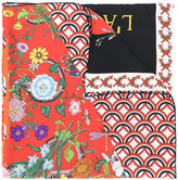 Gucci patchwork print scarf