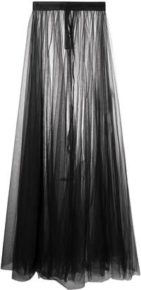 Loulou Sheer Tulle Skirt