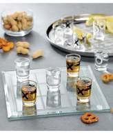 Jay Import Clear Tic Tac Toe Shot Glass Game Set