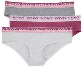 XOXO 3-pc. Knit Hipster Panty