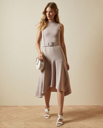 Ted Baker CORVALA Sleeveless midi dress
